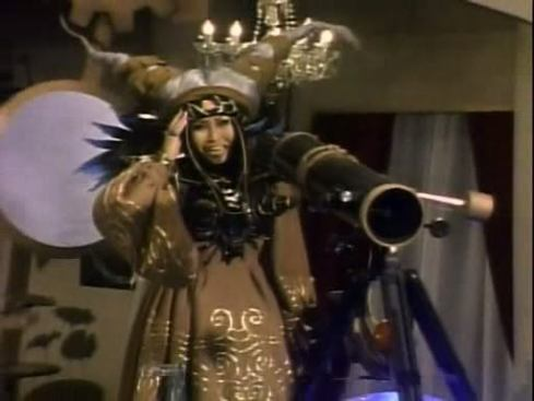 Rita Repulsa Looks Through Telescope