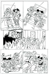 Stake And Scepter Page One