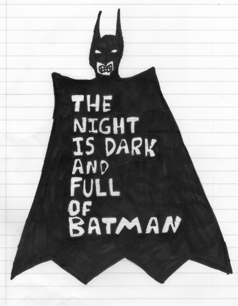 batman is the night