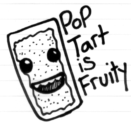 pop tart is fruity