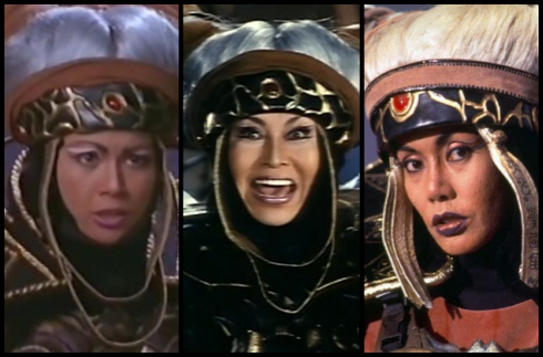 The many faces of Rita Repulsa