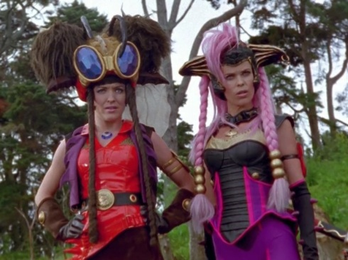 Marah and Kapri from Power Rangers Ninja Storm